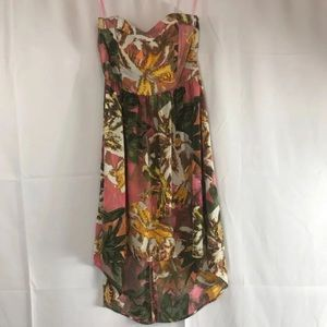 BB Dakota Sweetheart Strapless Dress Size 2